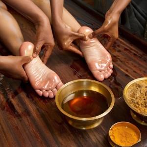 Индийский масляный массаж